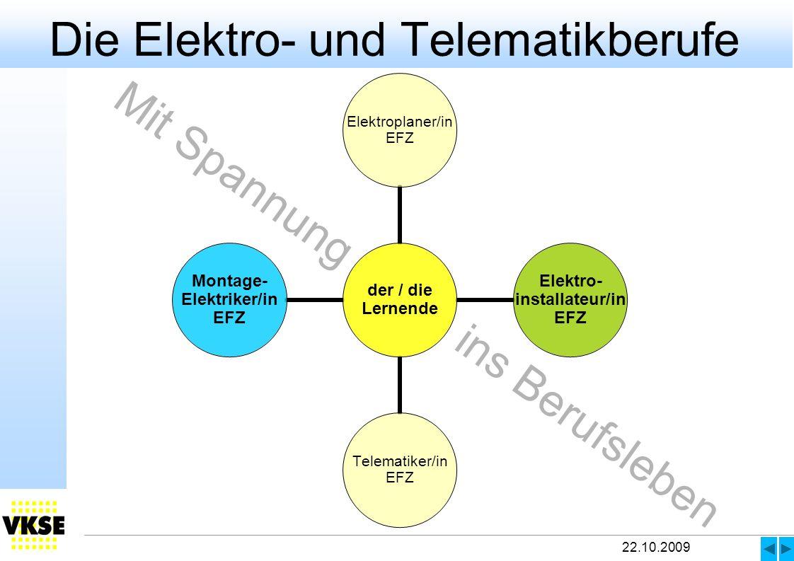 Die Elektro- und Telematikberufe