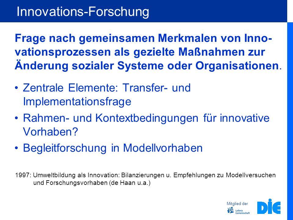 Innovations-Forschung