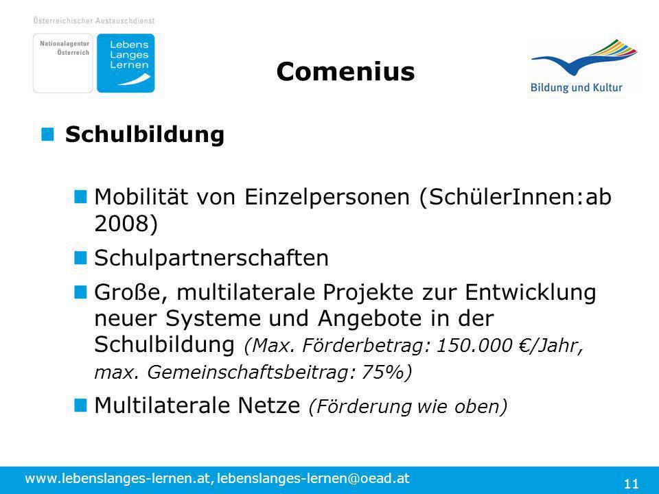 Comenius Schulbildung