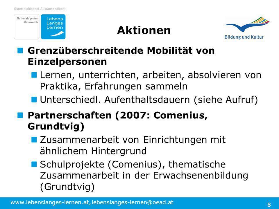 Aktionen Grenzüberschreitende Mobilität von Einzelpersonen
