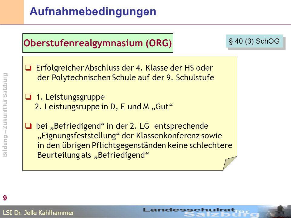 Oberstufenrealgymnasium (ORG)