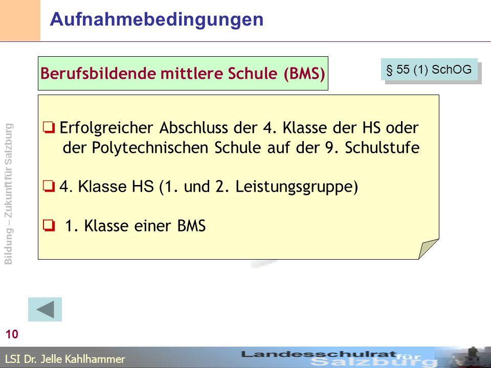 Berufsbildende mittlere Schule (BMS)