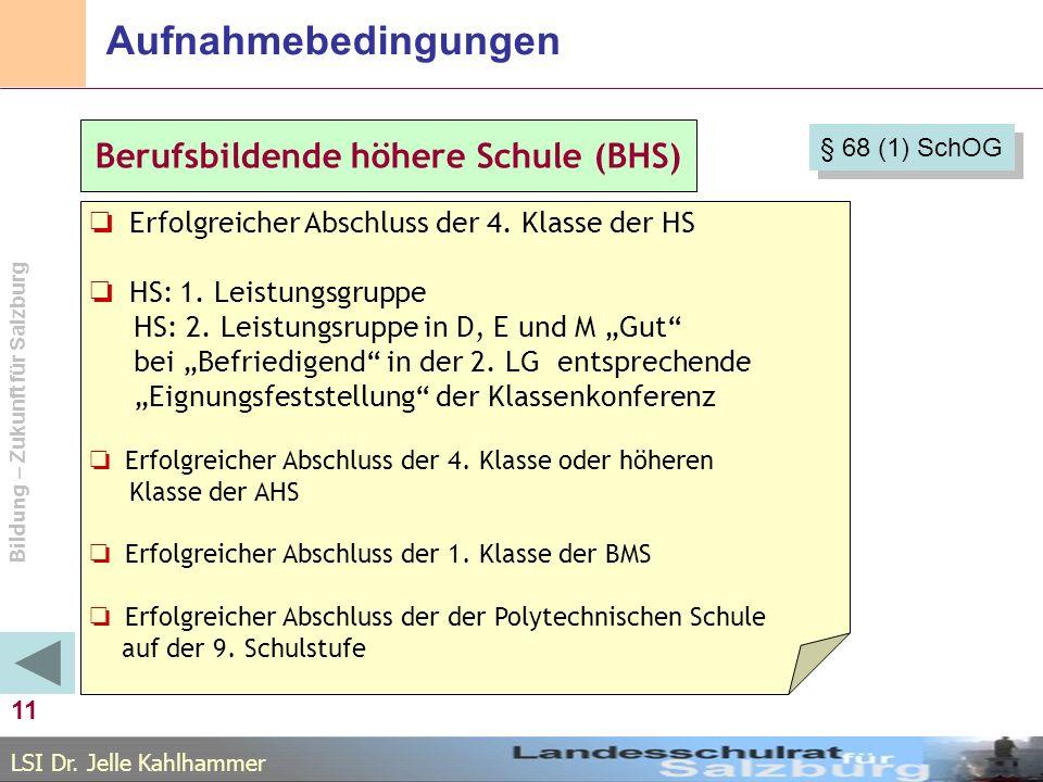 Berufsbildende höhere Schule (BHS)