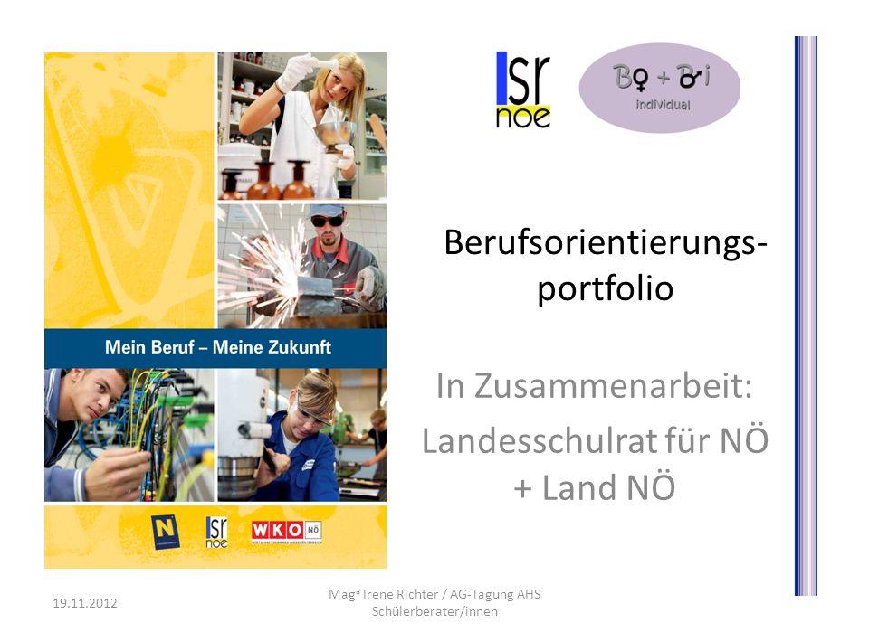 Berufsorientierungs- portfolio