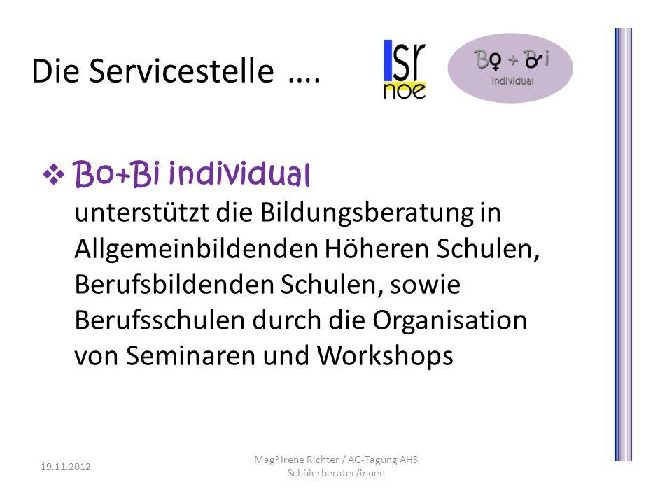 Maga Irene Richter / AG-Tagung AHS Schülerberater/innen