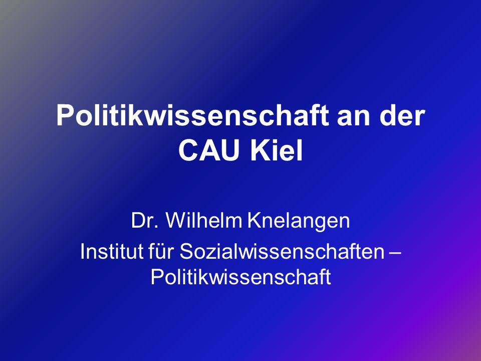 Politikwissenschaft an der CAU Kiel