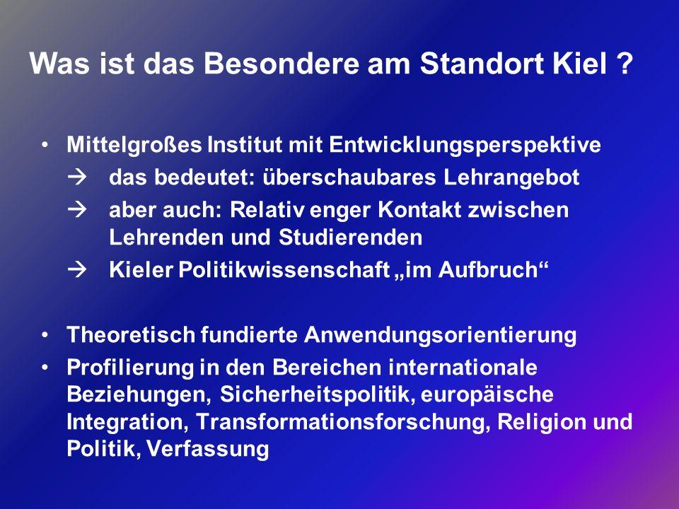 Was ist das Besondere am Standort Kiel