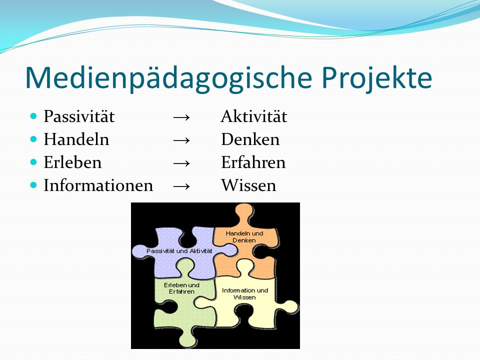 Medienpädagogische Projekte