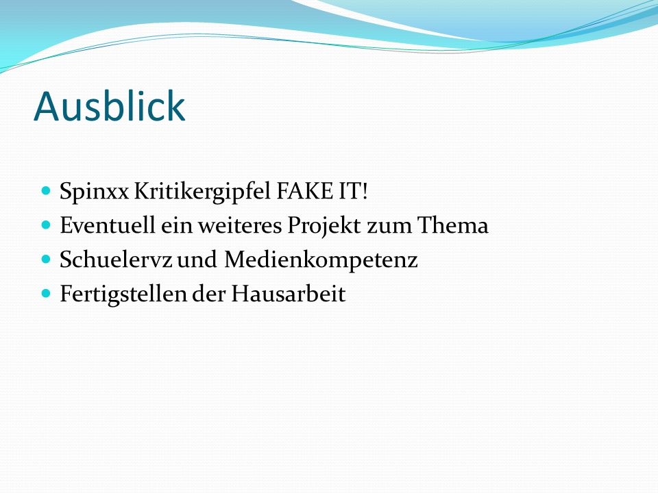 Ausblick Spinxx Kritikergipfel FAKE IT!
