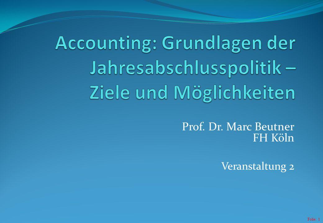 Prof. Dr. Marc Beutner FH Köln Veranstaltung 2