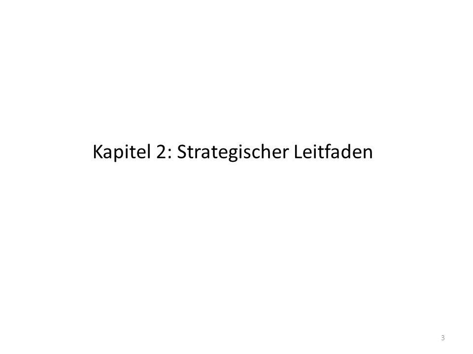 Kapitel 2: Strategischer Leitfaden