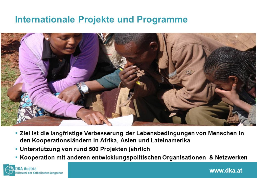 Internationale Projekte und Programme