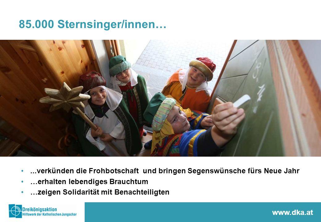 85.000 Sternsinger/innen…Unser spezielles Jungscharverständnis von Sternsingeraktion.