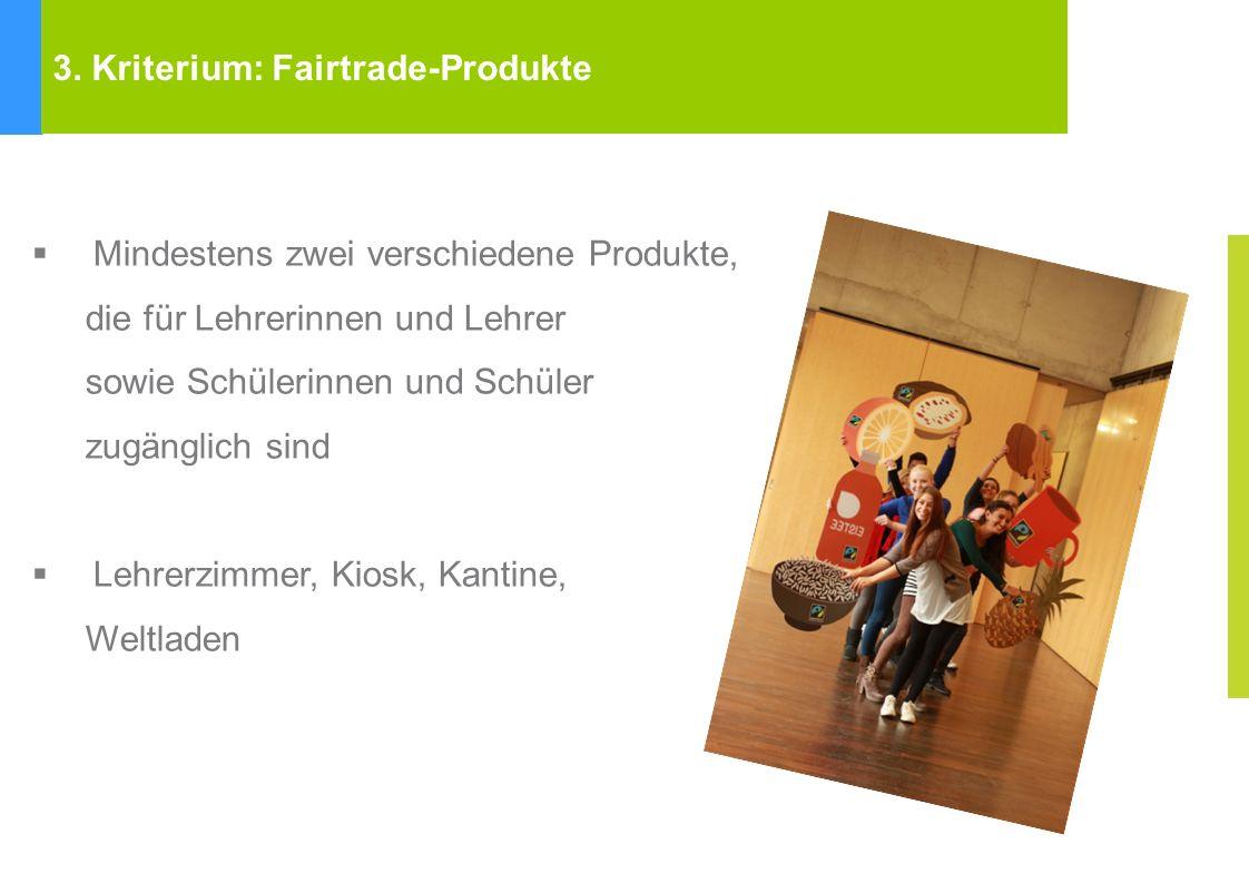 Fairtrade Towns Kriterien