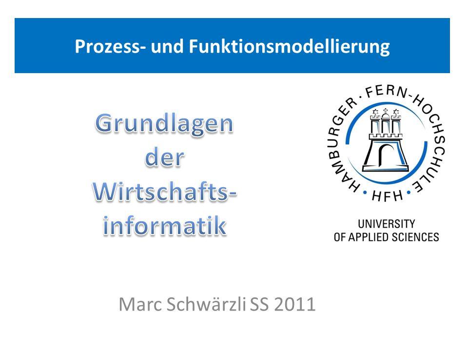 Prozess- und Funktionsmodellierung