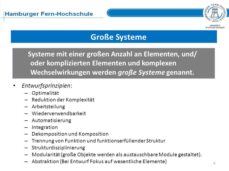 Große Systeme