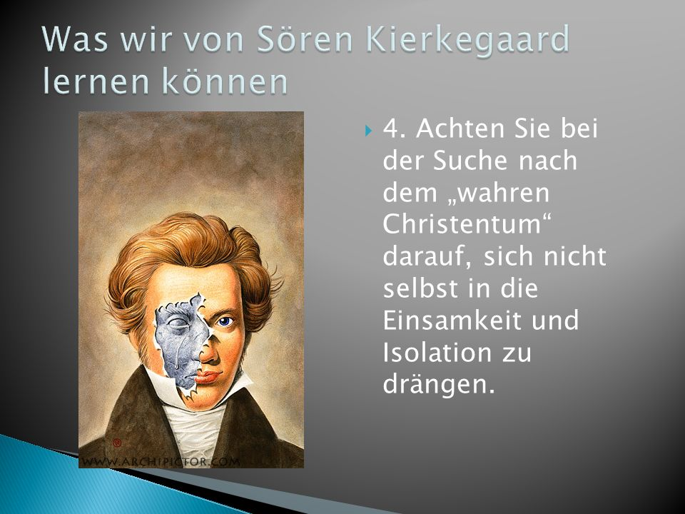 Was wir von Sören Kierkegaard lernen können