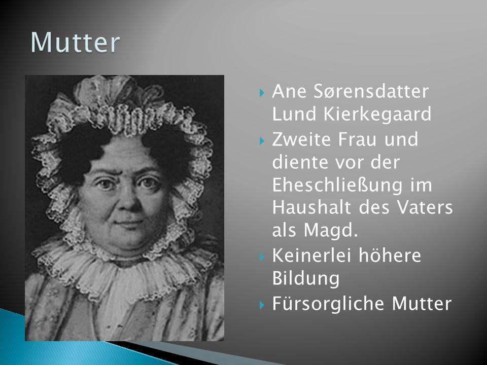 Mutter Ane Sørensdatter Lund Kierkegaard