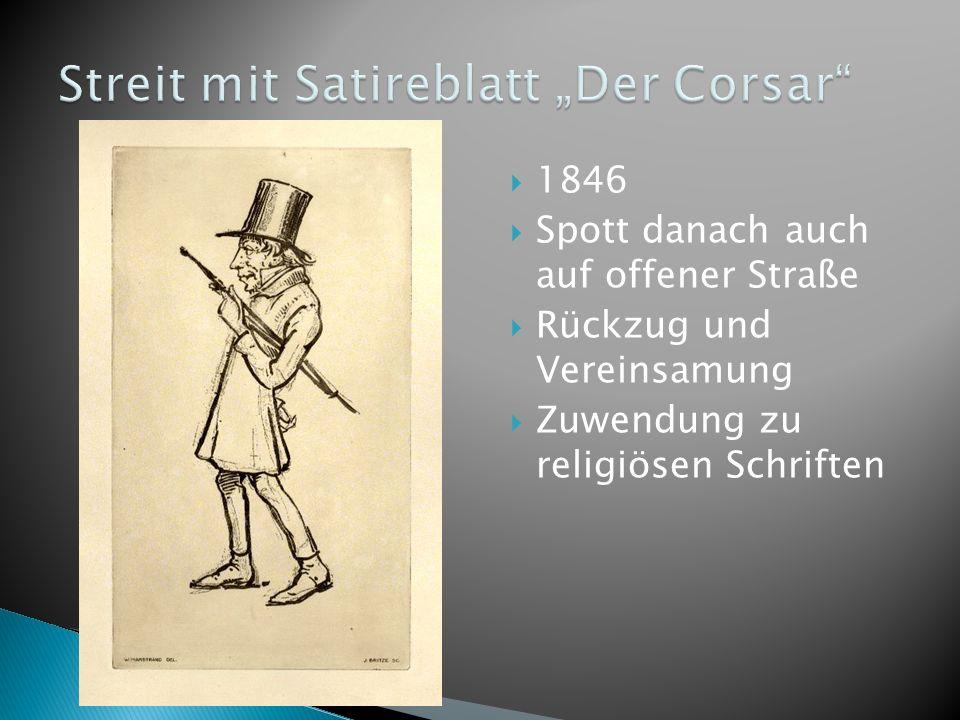"""Streit mit Satireblatt """"Der Corsar"""