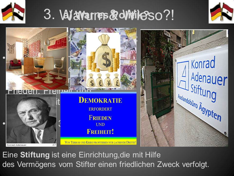 """Warum & Wieso ! 3. a) War es Politik """"National und international"""