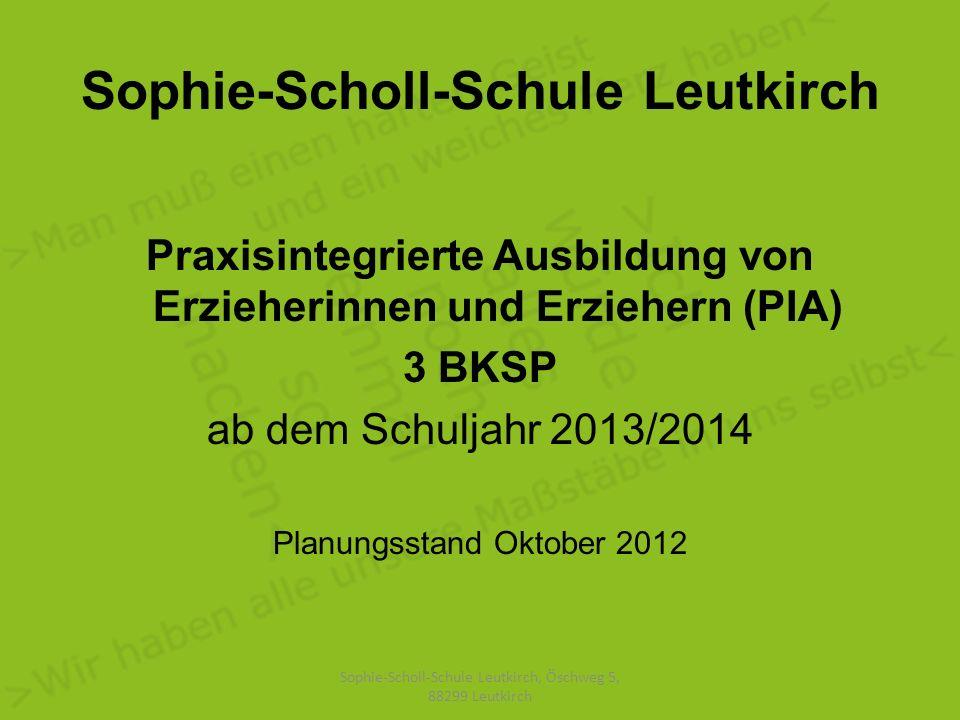Sophie-Scholl-Schule Leutkirch