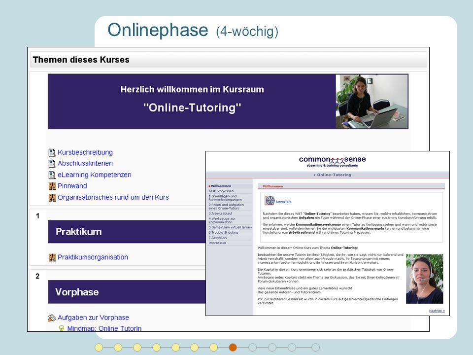 Onlinephase (4-wöchig)