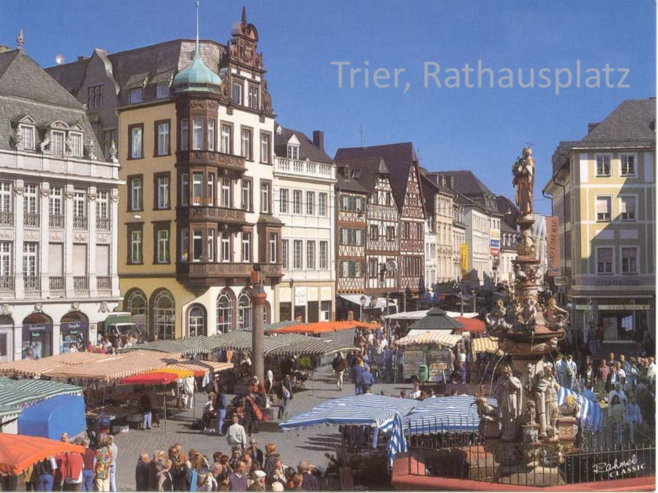Trier, Rathausplatz