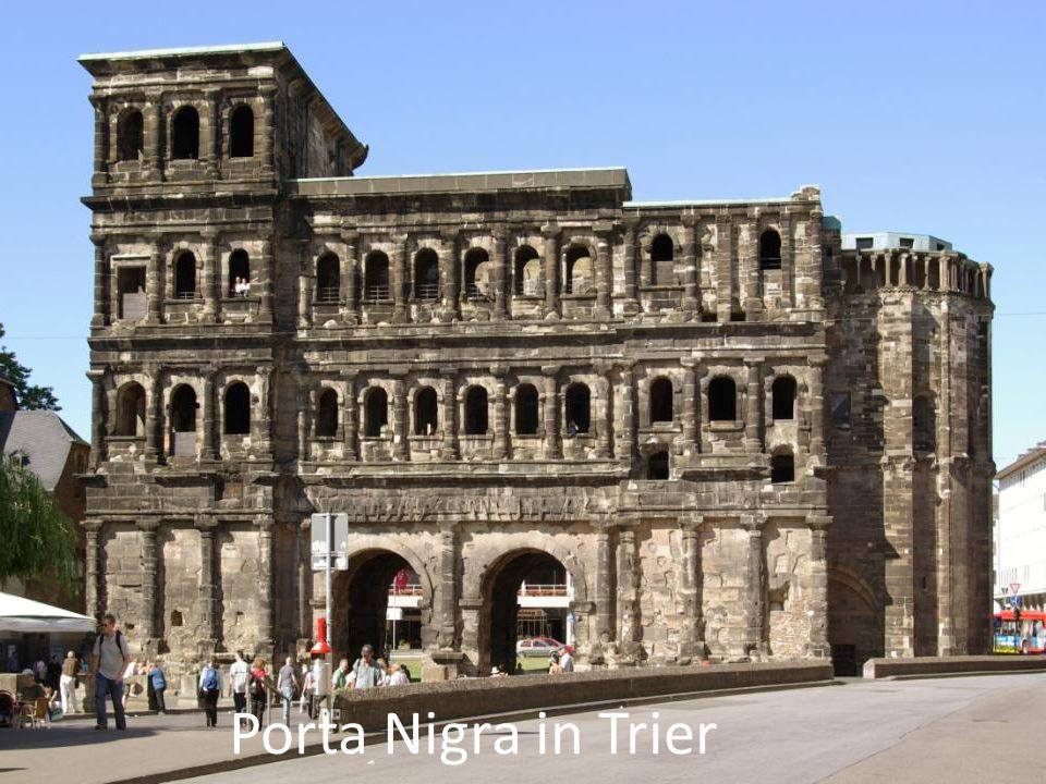 Porta Nigra in Trier Porta Nigra in Trier