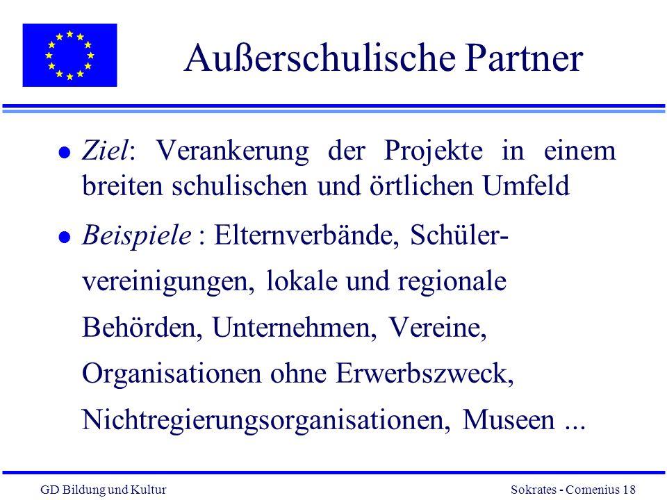 Außerschulische Partner