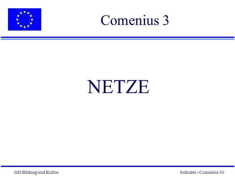 Comenius 3 NETZE