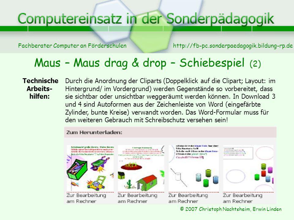Maus – Maus drag & drop – Schiebespiel (2)