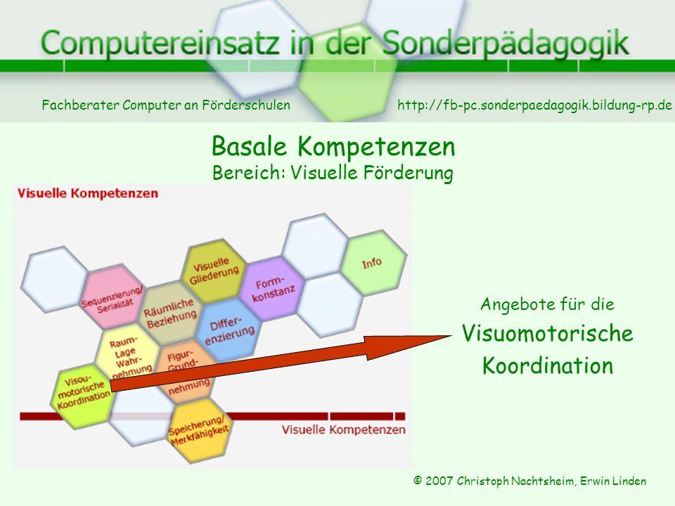 Basale Kompetenzen Bereich: Visuelle Förderung