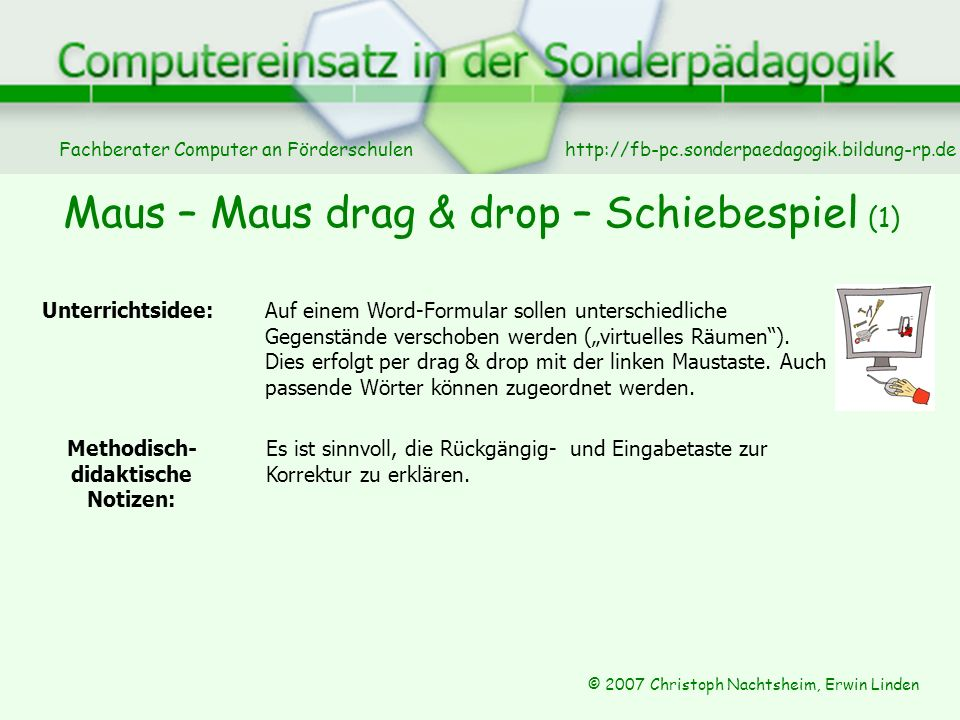 Maus – Maus drag & drop – Schiebespiel (1)
