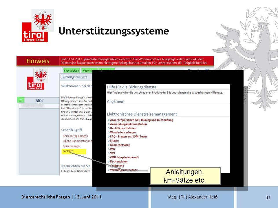 Anleitungen, km-Sätze etc.