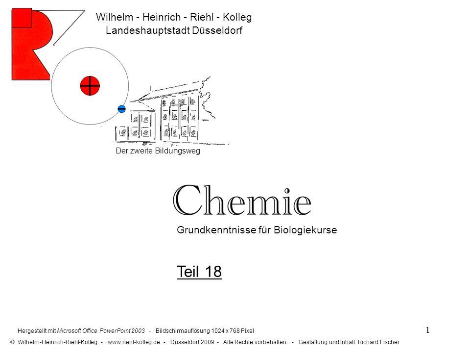 Teil 18 Wilhelm - Heinrich - Riehl - Kolleg