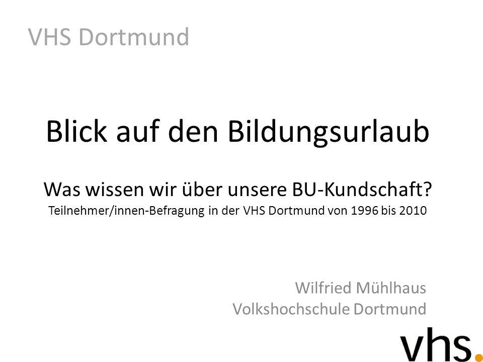 Wilfried Mühlhaus Volkshochschule Dortmund