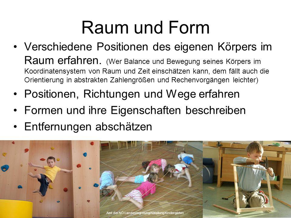Amt der NÖ Landesregierung/Abteilung Kindergärten