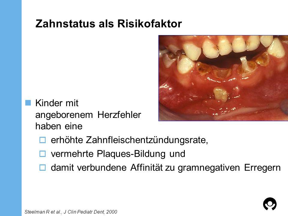 Zahnstatus als Risikofaktor
