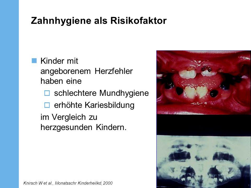 Zahnhygiene als Risikofaktor