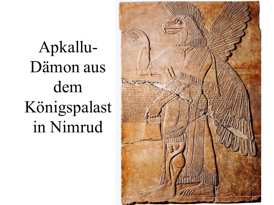 Apkallu-Dämon aus dem Königspalast in Nimrud