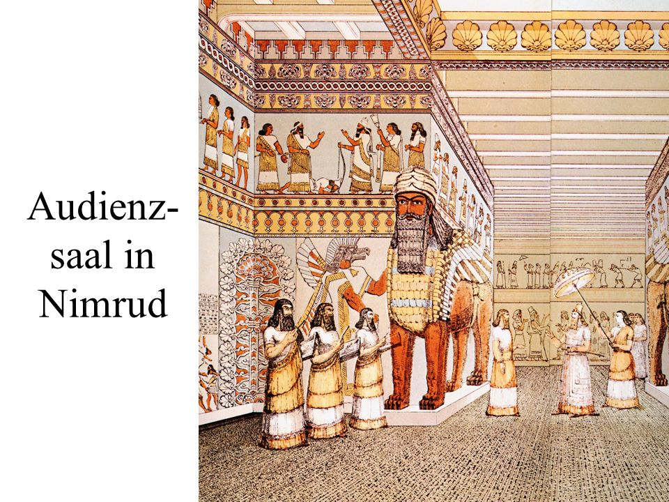 Audienz-saal in Nimrud