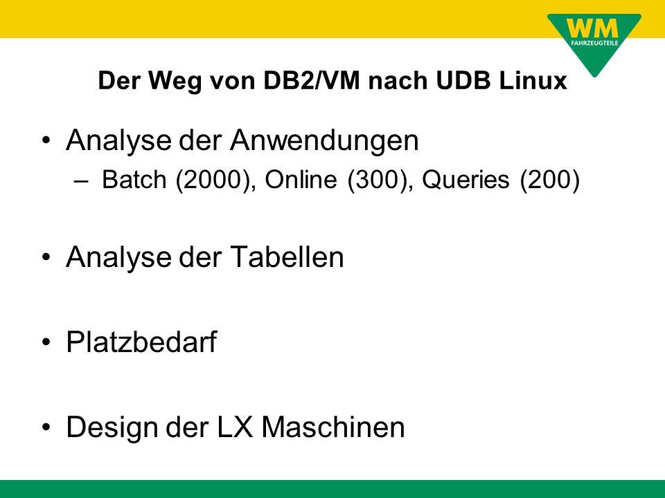Der Weg von DB2/VM nach UDB Linux