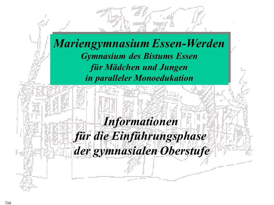 Mariengymnasium Essen-Werden