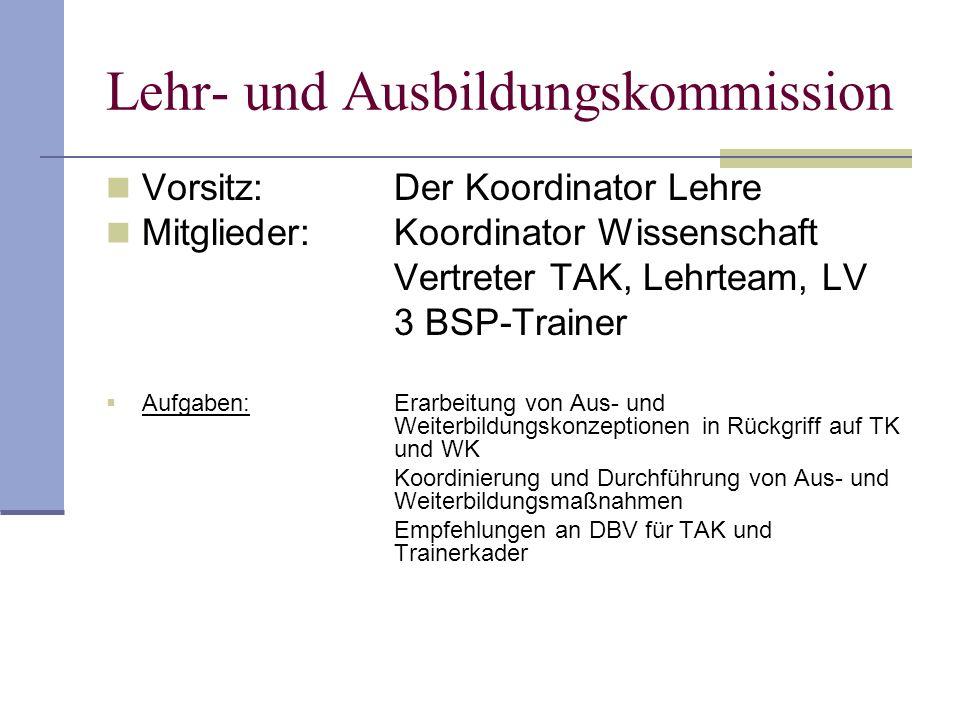 Lehr- und Ausbildungskommission