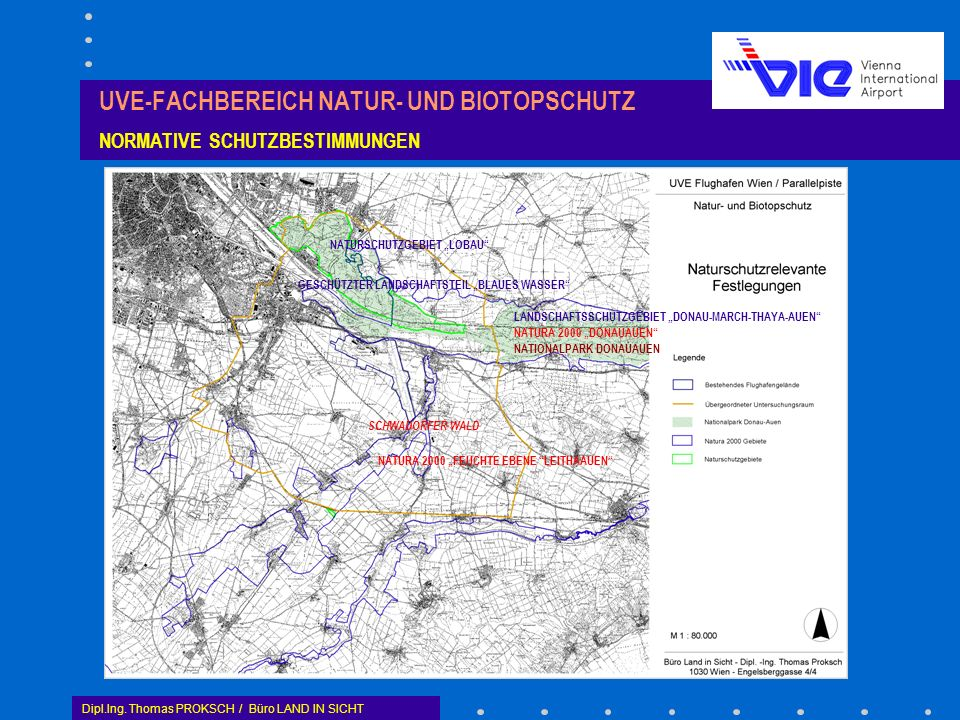 UVE-FACHBEREICH NATUR- UND BIOTOPSCHUTZ NORMATIVE SCHUTZBESTIMMUNGEN