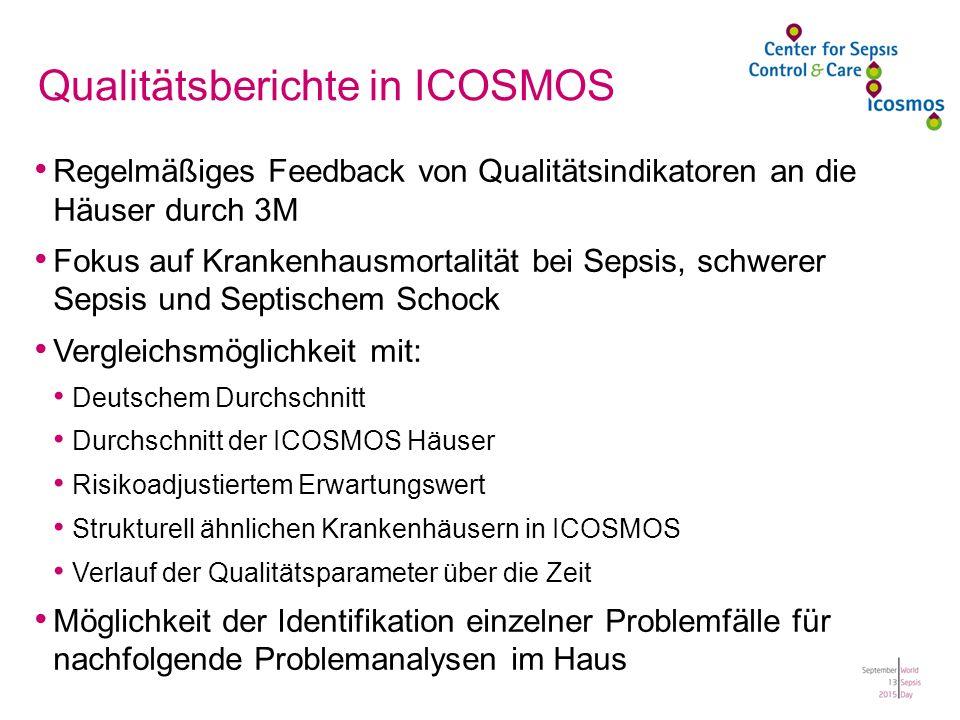 Qualitätsberichte in ICOSMOS