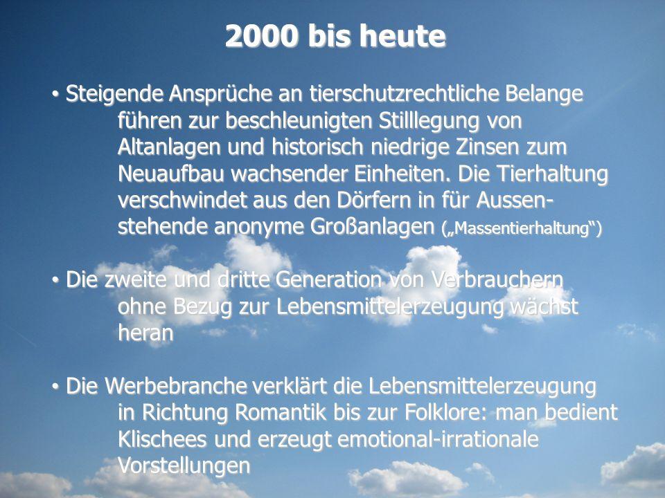 2000 bis heute