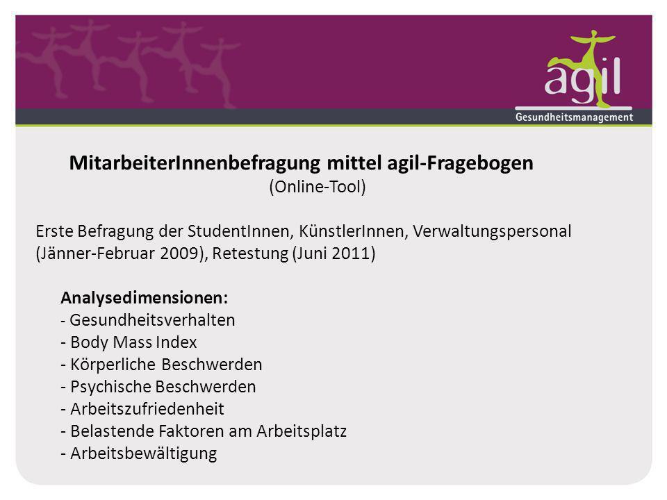 MitarbeiterInnenbefragung mittel agil-Fragebogen