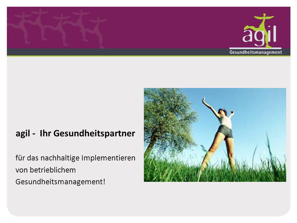 agil - Ihr Gesundheitspartner