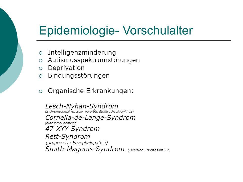Epidemiologie- Vorschulalter